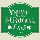 Republic of Ireland,March,Northern Ireland,Springtime,Green Color,Vector,Indigenous Culture,Cultures,Retro Revival,Event,Celtic Culture,Holiday,Decoration,Saint,Celebration,Backgrounds,Luck,Greeting Card,Season,Leaf,Ilustration,Day,patrick,Clover,Hand Lettering,Happiness