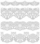 Embroidery,Ornate,Decoration,Collection,Computer Graphic,Ilustration,Symmetry,Repetition,Pinstripe,Pattern,Vector