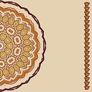 Cultures,Red,Decoration,Backgrounds,Vector,Pattern,Indigenous Culture,Circle,Ilustration,Ornate,Brown,Geometric Shape,Abstract,Symbol,Computer Graphic,Nature