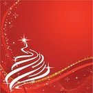 Christmas Tree,Christmas,Tree,Gold Colored,Christmas Ornament,Ribbon,Red,Christmas Decoration,Backgrounds,Vector,Vitality,Abstract,Winter,Holiday,Wave Pattern,Bright,Christmas,Holidays And Celebrations,Holiday Backgrounds,Holiday Symbols,Season,Star Shape,Vibrant Color,Celebration,Ilustration,Shiny