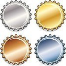 Bottle Cap,Bottle,bottlecap,Copper,High Section,Beer Bottle,Lid,Gold Colored,Gold,Vector,Metallic,Soda,Silver - Metal,Silver Colored,Shiny,Steel,Isolated Objects,Food And Drink,Illustrations And Vector Art