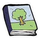 Cheerful,Drawing - Activity,Doodle,Bizarre,Clip Art,Rough,Ilustration,Tree,Comic Book,Spotted,Cute,Book