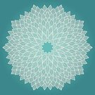 Asian Ethnicity,Backgrounds,Circle,Decoration,Painted Image,Arabic Style,Symbol,Retro Revival,hand drawn,Elegance,Embroidery,Abstract,Mandala,Part Of,Flower,Old-fashioned,Blue,Ilustration,Pattern,Symmetry,Ornate