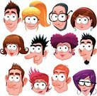 People,Humor,Happiness,Human Body Part,Human Head,Eyeglasses,Cheerful,Hairstyle,Computer Software,Family,One Person,Fun,Child,Teenager,Adult,Young Adult,Cut Out,Comic Book,Anthropomorphic Smiley Face,Illustration,Cartoon,Group Of People,Group Of Objects,Men,Boys,Females,Women,Portrait,Vector,Characters,Fashion,Facial Expression,Mobile App,2015,Avatar