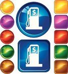 Fuel Pump,Symbol,Religious Icon,Price,Computer Icon,Gasoline,Circle,Fuel and Power Generation,Red,Finance,Yellow,Gold Colored,Square Shape,Vitality,Purple,Set,Currency,Internet,Green Color,Shiny,Vector,Ilustration,Blue,Creativity,Wealth,Design,Glass - Material,Brown,Modern,White,Vector Icons,Vibrant Color,Illustrations And Vector Art,Multi Colored