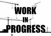 Working,Plan,Advice,Construction Site,Construction Industry,Progress,Horizontal,Sign,Photography,Drawing - Art Product,Building - Activity,Housing Development,2015