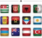 Angolan Flag,Letter A,National Flag,Vector,Flag,Azerbaijan,Algerian Flag,Flag Of Afghanistan,Computer Icon,Icon Set,Group of Objects,Rectangle,Isolated,Square Shape,Albania,Abkhazia,Afghanistan,Argentinian Flag,Flag Of Azerbaijan,Flag Of Albania,Flag Of Abkhazia,Austria,Flag Of Andorra,Flag Of Antigua And Barbuda,Austrian Flag,Flag Of Armenia,Australia,Armenia,Algeria,White Background,Square,Andorra,Angola,Argentina,Antigua & Barbuda,Australian Flag