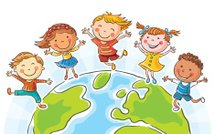 Child,Happiness,Cheerful,Sketch,Cartoon,Little Boys,People,Little Girls,Togetherness,Earth,Joy,Group Of People,Jumping,Multi Colored,Friendship,Business,Globe - Man Made Object,Peace On Earth,Vibrant Color,Vector,Ilustration,Drawing - Art Product,Global Communications,Communication,Tranquil Scene,Symbols Of Peace,Serene People,Symbol,Childhood