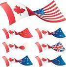 Canada,USA,Flag,Canadian Flag,American Flag,China - East Asia,UK,European Union Currency,Japan,British Flag,European Union Flag,Australia,Currency,Australian Flag,Trading,Exchange Rate,Chinese Flag,Currency Exchange,New Zealand Flag,New Zealand,Japanese Flag,Market,Finance,Illustrations And Vector Art,Business,Business Concepts,Business Symbols/Metaphors,Vector Icons