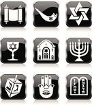 Judaism,Symbol,Torah,Synagogue,Menorah,Dreidel,Computer Icon,Law,Ten Commandments,Religious Icon,Star Of David,Religion,Icon Set,Evil,Vector,Bible,dradel,Human Hand,Human Eye,Interface Icons,Cup,Chrome,Black Color,Positive Emotion,Ram - Animal,Ilustration,Number 10,Glass - Material,Kiddush Cup,Highlighter,Old Testament,Horned,Three-dimensional Shape,Metallic,Old,Modern,Religion,rounded corners,Square,Vector Icons,Testaments,Gray,Shiny,Square Shape,Push Buttons,Concepts And Ideas,White Background,Black And White,Illustrations And Vector Art