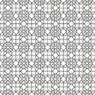Mosaic,Symbol,Islam,Ilustration,Geometric Shape,openwork,Pattern,Arabic Pattern,Lace - Textile,Shape,Ramadan,Elegance,Fragility,Abstract,Repetition,Vector,Black And White,Middle Eastern Ethnicity,Asia,Ornate,Decoration,Cultures,Backgrounds,Islamic Design