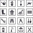 Agricultural Equipment,Gardening Equipment,Birdhouse,Picket Fence,Fencing,Flower Bed,Tap,Chair,Icon Set,Watering Can,Pruning Shears,Inner Tube,Formal Garden,Flower Pot,Trowel,Illustrations And Vector Art,Patio Umbrella,Field Chair,Green Color,Wheelbarrow,Drinking Water,Watering Pot,Spray Bottle,Boot,Computer Icon,Gardening,Chainsaw,Fence,Bird Home,Flower,Hand Saw,Circular Saw,Electric Lamp,Street Light,Spraying,Electric Saw,Faucet,Shovel,Lawn Mower,Ilustration,Umbrella,vector icons,Nature,Work Tool,Garden Hose,Boots,Insecticide,Clip Art,Symbol