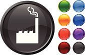 Factory,Symbol,Power Station,Computer Icon,Industry,Smoke - Physical Structure,Vector,Pollution,Empty,Environmental Damage,Black Color,Ilustration,Modern,Digitally Generated Image,Design,Shiny,Green Color,Red,Purple,Orange Color,Blue