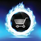 Computer Icon,Symbol,Sign,Banner,Placard,Bright,Brightly Lit,render,Retail,Backgrounds,Jenson Button,Burning,Large,Packaging,Cable Car,Selling,Business,Gift,eshop,Ilustration,Buying,Beautiful,Giving,Buy,Shiny,Marketing,Finance,Vibrant Color,Isolated,Remote,Flame,Shopping Bag,Blue,Action,Box - Container,Advertisement,Abstract,Shopping Cart,Store
