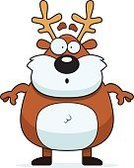 Ilustration,Reindeer,Surprise,Vector,Computer Graphic,Deer,Antler,Shock,Cartoon,Clip Art,Animal
