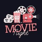 Night,Movie,Camera - Photographic Equipment,Machine Part,Premiere,Technology,Creativity,Entertainment,Film Industry,Ilustration,Equipment,Symbol,Admit One,Popcorn,Event,Ticket,motion picture,Vector,Projection Equipment,Sign