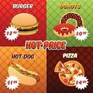 Chicken,Hamburger,Burger,Wallpaper Pattern,Sausage,Fried,Cola,Meal,Dog,Food,Art Title,Print,Vector,Price,Isolated,Speed,Heat - Temperature,Paper,template,Ornate,Painted Image,Pasta,Drink,Set,Pizza,Sandwich,Corn,Book Cover,Prepared Potato,Milkshake,Ice Cream,Donut,Soda,Potato Chip,Backgrounds,Design,Record,Fat,Ilustration,Unhealthy Eating,Noodles,Typescript,Poster,Plan,Flyer,Chinese Culture