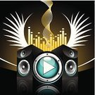 Speaker,Sound Mixer,Nightclub,Box - Container,Music,Sound,Mixing,Vector,Audio Equipment,Backgrounds,Studio,Party - Social Event,Frequency,Grunge,Photographic Effects,Singing,Technology,Electricity,Computer Graphic,Ilustration,Playing,Freshness,Design,Funky,Power,Bass,Electrical Equipment,Celebration,Modern Rock,Drawing - Activity,Art,Striped,Happiness,Power Supply,Painted Image,Relaxation,Technology,Music,Electronics,Arts And Entertainment,Illustrations And Vector Art,Disk