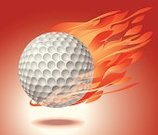 Golf,Golf Ball,Ball,Fire - Natural Phenomenon,Flame,Backgrounds,Spotlight,Heat - Temperature,Sphere,Sport,Vector,Flying,Ancient Olympic Games,Ilustration,Red,US Open,Burning,Spot Lit,Levitation,Floating On Water,Light - Natural Phenomenon,Mid-Air,Lightweight,Shadow,isolated object