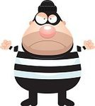 Clip Art,Cartoon,Frowning,Computer Graphic,Vector,Ilustration,Anger,Furious,Criminal,Thief,One Person,People,Displeased,Men,Burglar