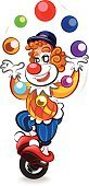 Carnival,Human Hair,Cartoon,Circus,Vector,Laughing,Clown,Image,Ilustration,Focus - Concept,Joy,Redhead,Color Image,Human Eye,Portrait,Front View,Cheesy Grin,Art Product,White Background,Art,Blue,Stage Make-up,Characters,Fun,Clown's Nose,Red,People,Smiling,Single Object
