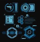 Connection,Design,Modern,Sparse,Abstract,Frame,Digital Display,Futuristic,Technology Abstract,dark background,Set,Hexagon,Weapon,Design Element,Pistol,Transparent,Data,Clip Art,Circle,Geometric Shape,Symbol,Vector,Sign,Shape