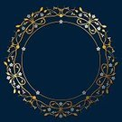 Flower,Floral Pattern,Curve,Frame,Circle,Design Element,Ilustration,Identity,Decoration,The Past,Old-fashioned,Elegance,Wedding Card,Forget-Me-Not,dark blue,Silver - Metal,Invitation,Vignette,Valentine's Day - Holiday,Vector,History,Blue,Swirl,Tendril,Gold Colored,Baroque Style,Spiral,Illuminated,Blossom,Nobility,Flourish,Silver Colored,Victorian Style,Luxury,Copy Space,Greeting Card,Valentine Card,Rococo Style