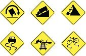 Slippery,Wet,Sign,Road,Rock - Object,Falling,Hill,Truck,Steep,Railroad Track,Skidding,Gravel,Symbol,Safety,At The Bottom Of,Bicycle,Train,Rolled Up,Warning Sign,Sliding,Traffic,Tossing,Cool,Tall,Turning,Illustrations And Vector Art,Midsection,Scraping