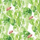Elegance,Drawing - Activity,Ilustration,Fashion,Floral Pattern,Pattern,Hibiscus,Green Color,Drawing - Art Product,Design,Seamless,Wallpaper Pattern,Plant,Tile,Succulent Plant,Desert,Ornate,Decoration,Repetition,Watercolor Painting,Backdrop,Backgrounds,Beauty In Nature,Abstract,Textile,Environmental Conservation,Computer Graphic,Flower,Flower Head,Blossom,Summer,Vector,Style,Textured,Decor,Botany,Cactus,Nature