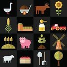 Web Page,Sunflower,Cow,agritourism,Corn - Crop,Wheelbarrow,Honey,Wheat,Truck Farm,Tractor,Symbol,Barn,UI,Mill,thumbnail,Plant,Tomato,Connection,Sign,Apple Tree,Vector,Shovel,porky,Harrow,Ranch,Harvesting,Crop,Agriculture,Farm,Flat Design,Pig,Set,Computer Icon,Goose,Environment,Digging Fork,Infographic Element,Crate,Content,Label,Agricultural Machinery,Rural Scene,cowshed,Ilustration,Sheep