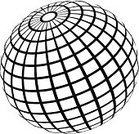 Sphere,Planet - Space,Wire Frame,Three-dimensional Shape,Striped,Abstract,Outline,Circle,Sign,Vector,Symbol,Computer Graphic,Sea,Time,Shape,Ilustration,Shiny,Backgrounds,Europe,Balance,Vector Backgrounds,Illustrations And Vector Art,Reflection,North