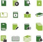 Book,Computer Icon,Symbol,Pencil,Library,Set,Reading,Linned,Group of Objects,Dictionary,Writing,Archives,Downloading,Searching,Bookmark,Sound,File,Simplicity,Movie,Human Hand