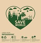 Infographic,Creativity,Planet - Space,reuse,Nature,Sign,Symbol,Turbine,Togetherness,Thinking,Love,environmentally,Abstract,Tree,Vector,Biology,Car,Environment,demographic,Data