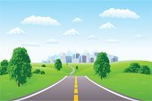 Road,Cityscape,City,Landscape,Hill,Vector,Tree,Landscaped,Office Building,House,Grass,Residential Structure,Summer,Sky,Sun,Office Interior,Cloudscape,Flower,Cloud - Sky,Sunlight,Beautiful,Business,Nature,Beauty,Nature Backgrounds,Business Backgrounds,Landscapes,Beauty In Nature