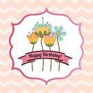 Colors,Postcard,Design,Happiness,Ilustration,Holiday,Party - Social Event,Cultures,Event,Fun,Decoration,Invitation,Vector,Greeting Card,Label,Birthday,Entertainment,Joy,Individuality,Flower,Ornamental Garden,Celebration,Pastel Colored,Cute,Nature,Digitally Generated Image