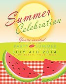 Summer,Celebration,Tropical Climate,Horizon Over Land,Vector,Checked,Cold - Termperature,Fun,Backgrounds,Invitation,Sun,Poster,Event,Heat - Temperature,Outdoors,Plan,Text,template,Design,Water,Textured,Wave,Sea,Company Picnic,Barbecue,Old-fashioned,Retro Revival,Picnic,Tablecloth,Ilustration,Horizon Over Water,Party - Social Event,Beach,Weather