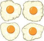 Nature,Meal,Isolated,Single Object,Merchandise,Vector,Shape,Ilustration,Healthy Eating,Eat,Gourmet,White,Eggs,Freshness,Healthy Lifestyle,Fried Egg,Yellow,Egg Yolk,Lunch,Ingredient,Backgrounds,Morning,Food And Drink,Set,Orange Color,Breakfast,Cholesterol,Cooked,Food,Cooking,Colors,Circle,Close-up,Cultures