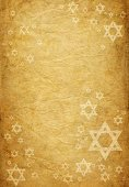 Judaism,Hanukkah,Star Of David,Backgrounds,Symbol,Parchment,Religion,Paper,Retro Revival,Ancient,1940-1980 Retro-Styled Imagery,Textured,Star Shape,Old-fashioned,Brown Paper,old paper,Old,Antique,Brown,Weathered,david star,Copy Space,Crumpled,Yellow Paper,Color Image,Brown Background,Scratched,Vertical