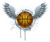 Basketball,Basketball - Sport,Grunge,Wing,Activity,Wing,Sport