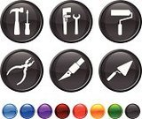 Craft,Repairing,Hardware Store,Work Tool,Computer Icon,Symbol,Working,Occupation,Equipment,Icon Set,Utility Knife,Employment Issues,Manual Worker,Hammer,Green Color,Vector,Wrench,Black Color,Red,Orange Color,Design,Digitally Generated Image,Modern,Blue,Sharp,Ilustration,Screwdriver,Purple