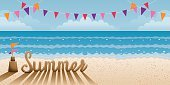 Fun,Sale,People Traveling,Tourism,Single Object,Ilustration,Summer,Beach,Vector,Symbol,Season,Journey,Flag,Relaxation,Sunset,Sunlight,Sand,Copy Space,Wave,Seascape,Nature,Design Element,Computer Graphic,Travel,Cultures,Business Travel,Hawaii Islands,Travel Destinations,Vacations,Part Of,Frame,Backgrounds,Holiday,Day,Sea,Sun,Sunrise - Dawn,Island,Tropical Climate,Water's Edge,Sky,Idyllic,Landscape,Party - Social Event,Design