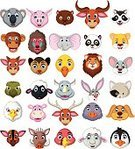Characters,Rabbit - Animal,Smiling,Bull - Animal,Isolated,Rhinoceros,Wolf,Symbol,Bear,Bird,Ilustration,Giraffe,Snake,Lion - Feline,Wildlife,Safari Animals,Pets,Tiger,Sheep,Raccoon,Crocodile,Set,Cow,Elephant,Zoo,Leopard,Doodle,Dog,Hippopotamus,Cartoon,Zebra,Computer Icon,Remote,Collection,Cheetah,Animal,Mascot,Vector,Tropical Rainforest,Animals In The Wild,Animal Head,Panda,Undomesticated Cat,Tiger Beer,Safari