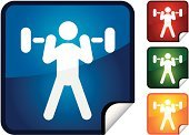 Weightlifting,Weight Training,Stick Figure,Sport,Symbol,Computer Icon,Label,Vector,Shiny,Page Curl,Actions,Vector Icons,Sports And Fitness,Illustrations And Vector Art,Professional Sport,Event,Sports Event