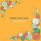Vector,Frame,Sewing,Backgrounds,Scrapbook,Cute,Ilustration,Postcard,vector illustration,Homemade,Collection,Invitation,Childhood,Child,Pattern,Greeting Card,Cheerful,Scrapbooking,Spotted,Craft,frame border,Old-fashioned,Yellow,Ornate,template,Decoration,Fashion,Fun,Circle,Symbol,vector background