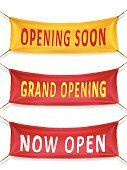 Celebration,Business,coming soon,Decoration,Event,Announcement Message,Advertisement,Set,Vector,Red,Opening Soon,now open,Textile,Flag,Store Opening,Marketing,Pennant,Rope,Emotional Stress,Market,Invitation,Opening Ceremony,Majestic,Hanging,Heading the Ball,Horizontal,Yellow