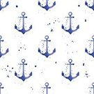 Style,Sailor,Decoration,Backgrounds,Anchor,Art,Navy Blue,Repetition,Ornate,Abstract,Watercolor Painting,Creativity,Simplicity,Seamless,Sea,Design Element,Holiday,Computer Graphic,Vector,Nautical Vessel,Blue,Color Image,Symbol,Pattern,Ilustration,Splashing,White,Sailing,Wallpaper Pattern