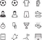 Icon Set,Symbol,Sport,Strategy,Simplicity,Sports Uniform,Sports Team,Shoe,Football Field,Soccer Pass,Whistle,Football Player,Goalkeeper Gloves,Competitive Sport,Characters,Championship,Ball,Football,Goal,Soccer Field,Planning,Net - Sports Equipment,Playing,Soccer,Stopwatch,Shirt,Sign,Sports Clothing,Activity,Arrow Symbol,Glove,Clothing,Trophy,Running,Goalie,Flag,Ilustration,Corner Kick,Pants,Victory,Play,Winning,Soccer Ball