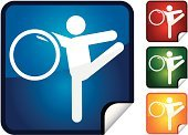 Gymnastics,Sport,rhythmic,Stick Figure,Sports And Fitness,Illustrations And Vector Art,Vector Icons,Event,Actions,Computer Icon,Vector,Sports Event,Label,Shiny,Professional Sport