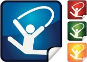 Gymnastics,Stick Figure,Sport,Sports And Fitness,Illustrations And Vector Art,Vector Icons,Event,Actions,Computer Icon,Vector,Sports Event,Label,Shiny,Professional Sport