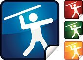 Track And Field Athlete,Javelin,Professional Sport,Stick Figure,Sport,Event,Computer Icon,Throwing,Vector,Actions,Vector Icons,Sports And Fitness,Shiny,Sports Event,Label,Illustrations And Vector Art